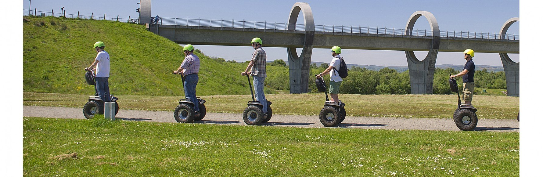 Segway tour at the Falkirk Wheel