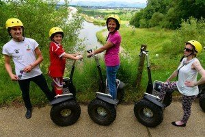 Segway in Falkirk with a guide